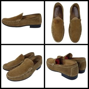 Johnston and Murphy Loafers, Size 9, Mens, Leather